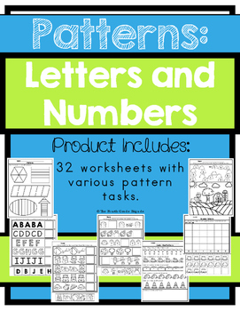 Patterns - Number and Letter Patterns
