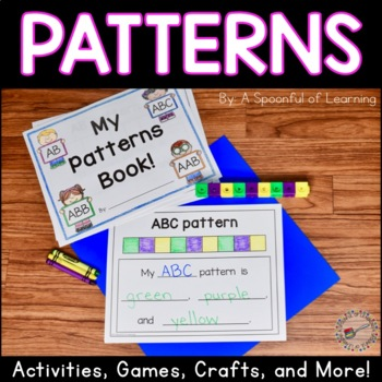 Patterns Pack! Recognize, Continue, and Create Patterns Activities!