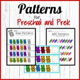 Preschool - Prek Math (Patterns)