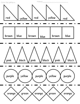 Patterns, Patterns, Patterns!!!