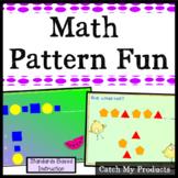 Math Patterns Power Point