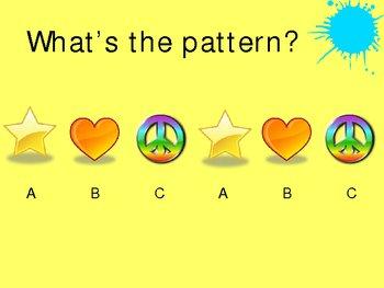 Patterns Power Point Presentation
