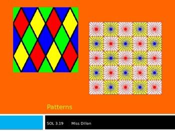 Patterns PowerPoint VA SOL 3.19