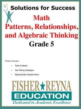 Patterns, Relationships, and Algebraic Thinking, Grade 5 Math