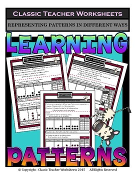 Patterns - Representing Patterns in Different Ways - Grade