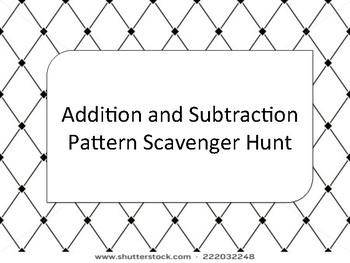 Patterns Scavenger Hunt
