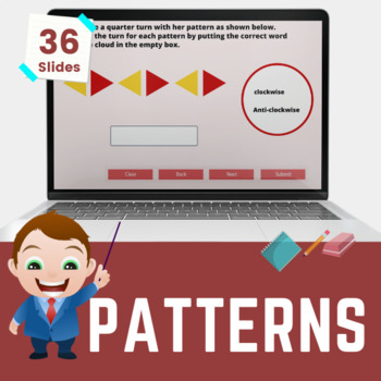 Patterns & Sequences - 1st grade (UK Year 2, Key stage 1)
