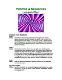 Patterns & Sequences Lesson Plan