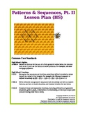 Patterns & Sequences, Pt. II (High School Lesson Plan)