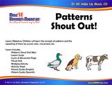 Patterns Shout Out! - Song (Mp3), Lesson Materials, Activi