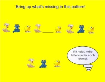 Patterns Smartboard Practice