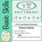 Patterns Spring Bunnies Activity Mats