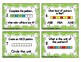 Patterns Task Cards
