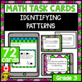 Patterns Task Cards Grade 3