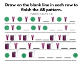 Patterns & Tracing Kit: AB, ABC, & Shape Recognition