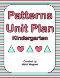 Patterns Unit - Kindergarten