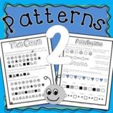 Patterns Unit - Repeating, Increasing, Decreasing