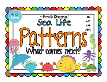 Patterns- What Comes Next? Copy, Continue, Create
