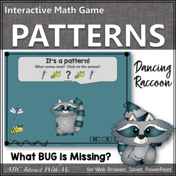 Patterns What's Missing? Interactive Math Game with Bugs {