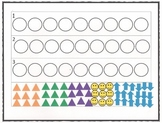 Patterns White Board Click and Drag w/Printable: Pre-K and