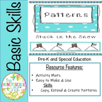 Patterns Winter Activity Mats