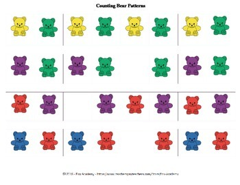 Patterns With Counting Bears