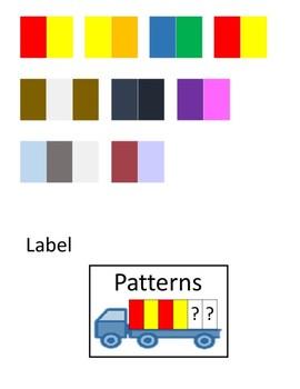 Patterns Workbox or File Folder