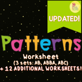 Patterns Worksheet (UPDATED!)