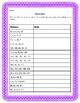 Patterns Write the Rule Worksheet