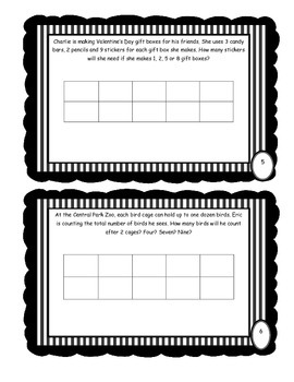 Patterns across Tables: practice activity