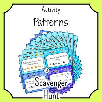 Patterns and 2D Patterns SCAVENGER HUNT