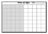 Patterns and Algebra Assessment Task