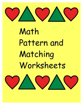 Patterns and Beginning Math Skills for Kids with Autism