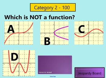 Patterns and Functions Jeopardy