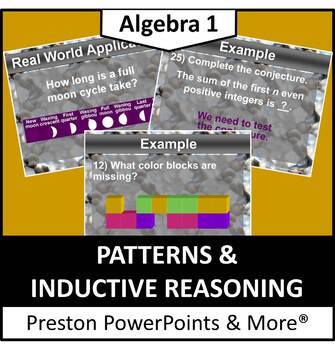 Patterns and Inductive Reasoning in a PowerPoint Presentation