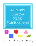 Shapes and Colors Busy Book Pages
