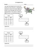 Patterns and Relationships - Patrones y Relaciones Matemáticas - Spanish