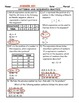 Patterns and Sequences Word Problem Practice PLUS Spiral Review
