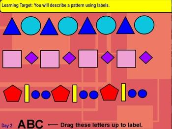 Patterns and Sorting Flipchart Unit