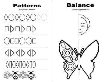 Patterns and Symmetrical Balance