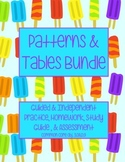 Patterns and Tables Bundle