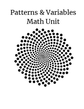 Patterns and Variables