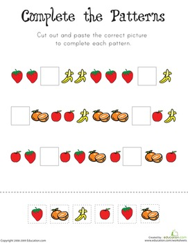 Patterns and Word Problems Workbook