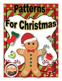 Patterns for Christmas (Clip Cards) Math Activity