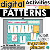 Patterns for Google Classroom DISTANCE LEARNING