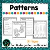 Patterns for Kindergarten or Grade 1