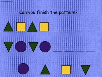 Patterns for the SMARTBoard
