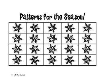 Patterns for the Season!
