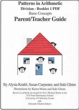 Division - Booklet 1 Basic Concepts Teacher Guide