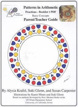 Fractions:  Booklet 1 - Basic Concepts - Parent/Teacher Guide